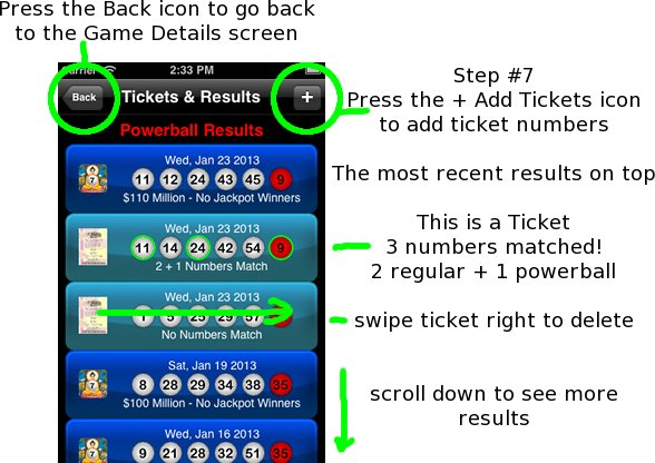 Tickets & Results