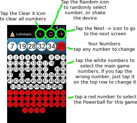 Pick Numbers